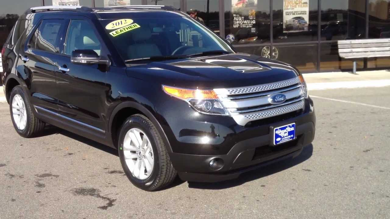 2012 ford explorer xlt tuxedo black for sale 18009502925 - Ford Explorer 2012 Black