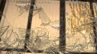 فيديو: عامل ينقذ محل ذهب بالصين من عملية سطو مسلح