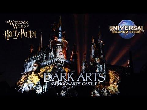 DARK ARTS AT HOGWARTS CASTLE PREMIERE | Wizarding World of Harry Potter | Universal Studios Orlando