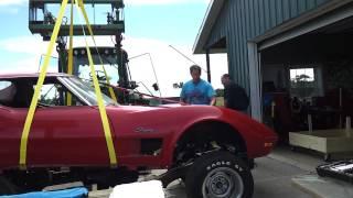 1972 Corvette body lift