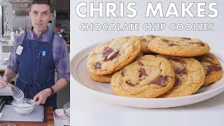 Chris Makes Chocolate Chip Cookies | From the Test Kitchen | Bon Appétit