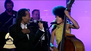 Bobby McFerrin & Esperanza Spalding jam at the 53rd GRAMMY Pre-Tel   GRAMMYs