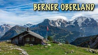 Sicht auf Eiger, Mönch und Jungfrau | Wandern im Berner Oberland