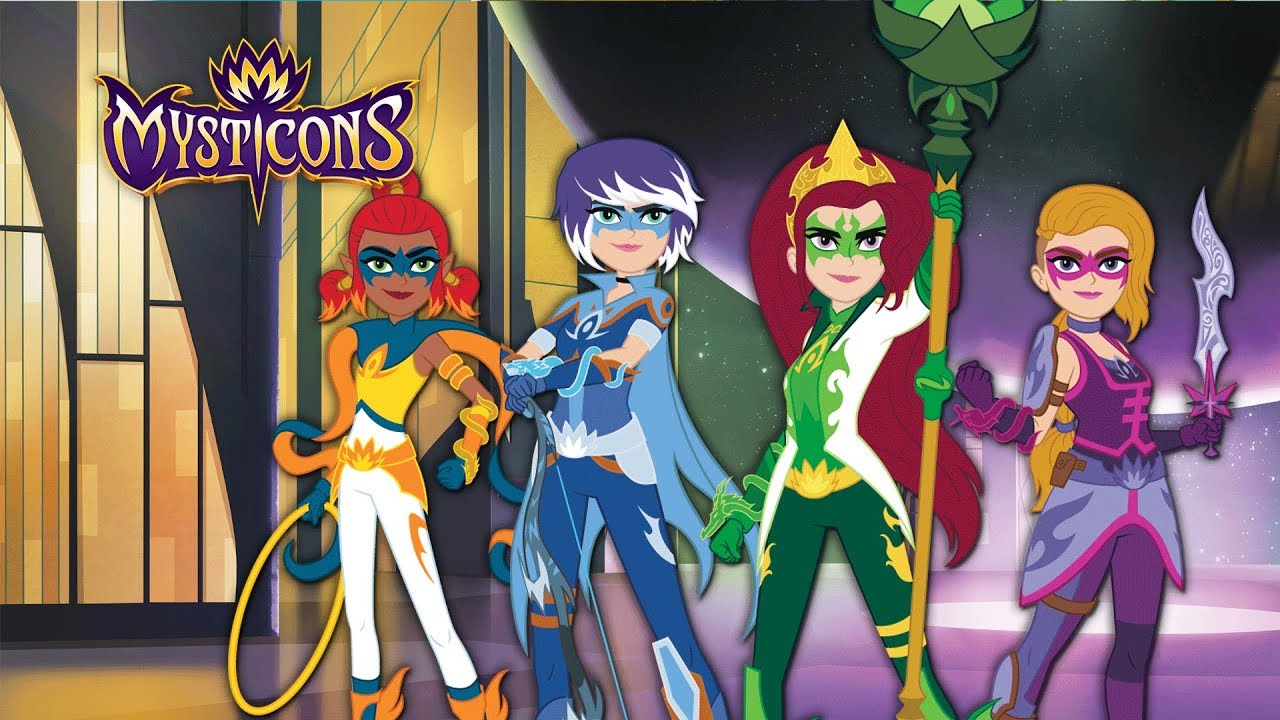 Decent Girl Wallpaper Mysticons Trailer Saturdays 8 00am On Nicktoons Youtube