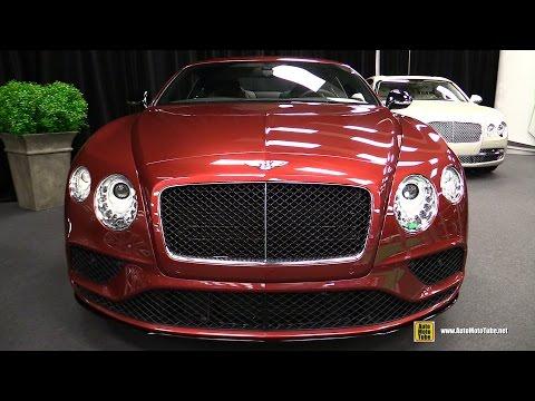 2016 Bentley Continental GT V8 S - Exterior and Interior Walkaround - 2016 Montreal Auto Show