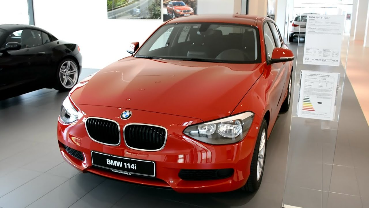 2014 new bmw 1er 114i f20 youtube. Black Bedroom Furniture Sets. Home Design Ideas