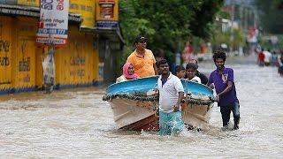 الفيضانات تودي بحياة المئات في سريلانكا    19-5-2016