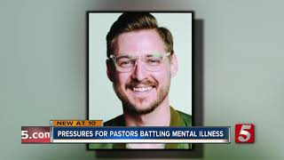 Pressures for pastors battling mental illness