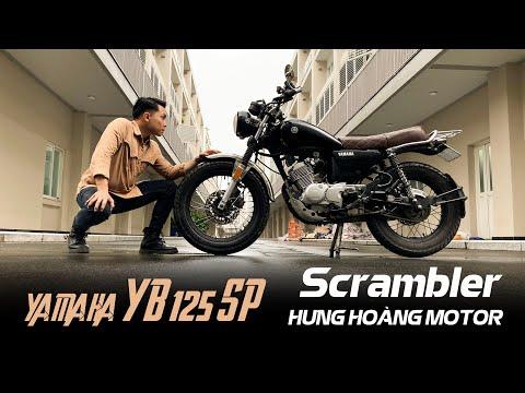 YAMAHA YB 125SP sau 2 năm dọn dáng SCRAMBLER  | Classic Review | HưngHoang Motor | Yamaha YB 125Sp |