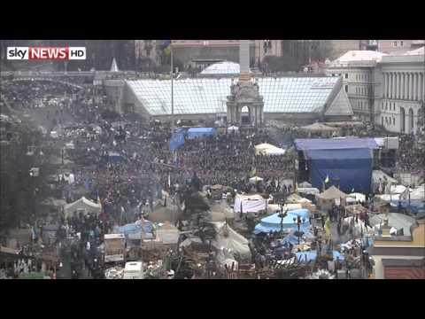 Ukraine: Protesters In Control Of Kiev