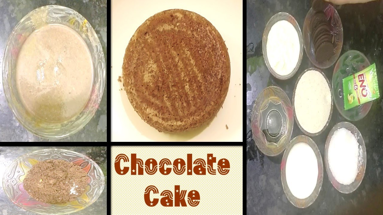 Chocolate Cake in Tamil without Oven / Bake cake @ home with 5 Ingredients / Egg less Chocolate Cake