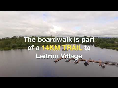 VIDEO: Walk on water with Ireland's first floating walkway!