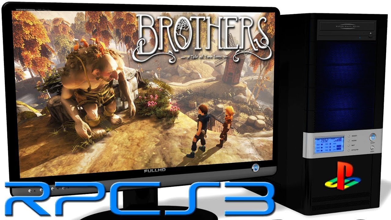 RPCS3 0 0 3 PS3 Emulator - Brothers: A Tale of Two Sons (2013)  LLVM Vulkan  (Auto LLE) #1