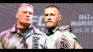 Conor McGregor Says Brock Lesnar Juiced to Eyeballs