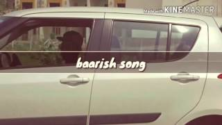 Gambar cover baarish / half girlfriend / album song by jay patel