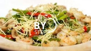 Pasta Primavera Recipe, Recipe For Pasta Primavera, Pasta Primavera With Roasted Vegetables