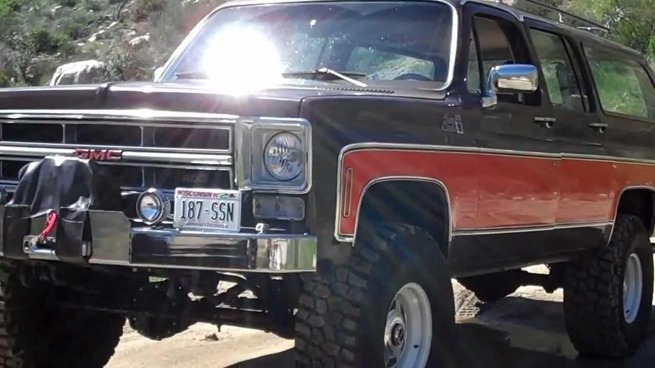 1976 Suburban 3/4 Ton 4x4 - Exhaust Sound - Idle - YouTube