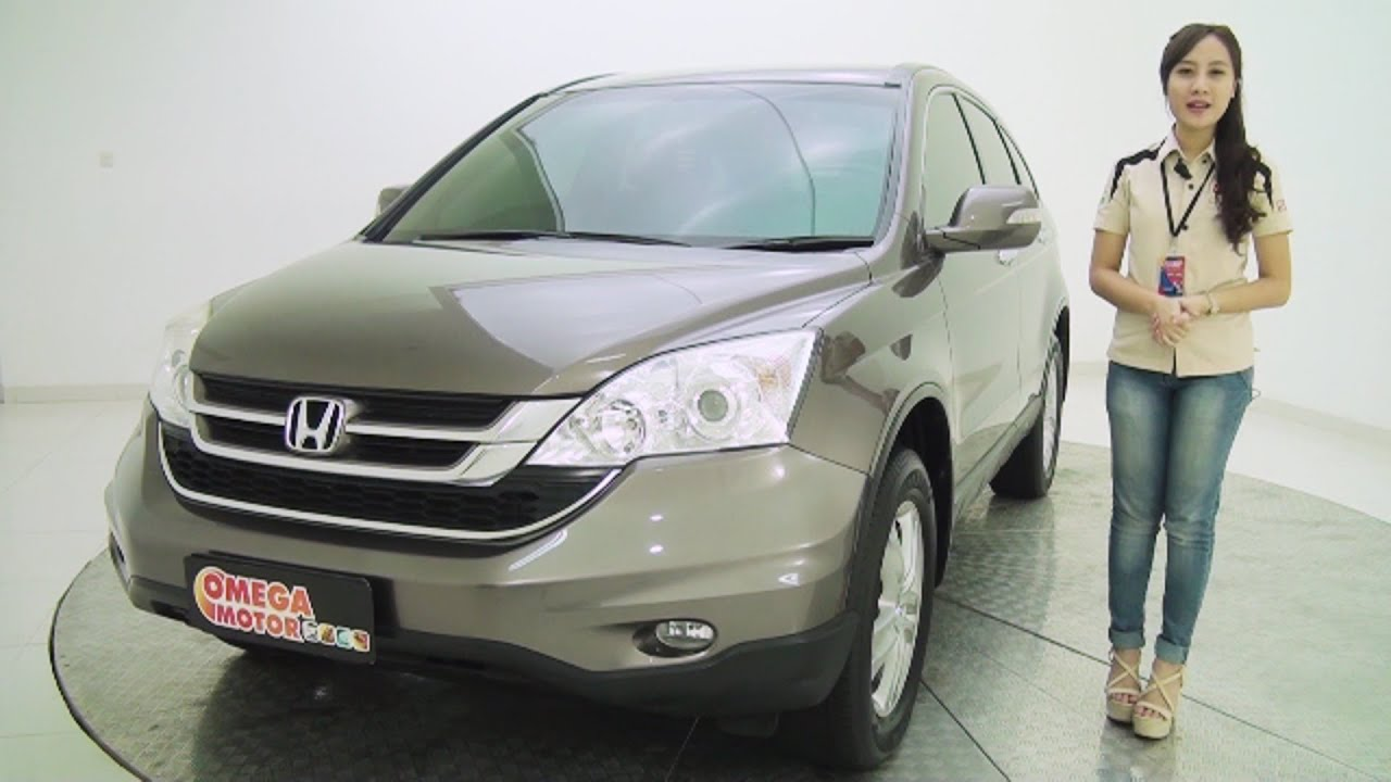 MOBIL BEKAS HONDA ALL .NEW.CRV 2.4 AT 2010 SOLD - YouTube