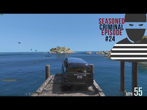 Drive it into the Ocean!  - #24 DOJ Criminal GTA V (Feat. Jeff Favignano, BayAreaBuggs & Polecat324)