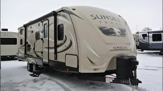 2015 CrossRoads Sunset Trail Super Lite ST270BH Walk-thru 7630