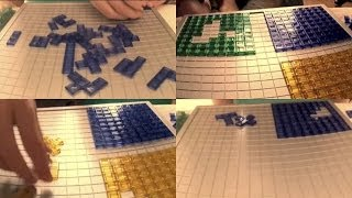 Time Lapse :: Blokus Four Squares Challenge