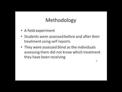 Stress inoculation therapy