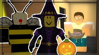 TRICK OR TREAT? I went Trick or Treating in September in Roblox...