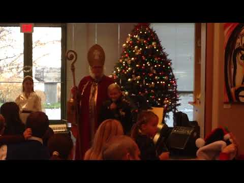 Svätý Mikuláš (St. Nicholas) Party at the Slovak Embassy 2015