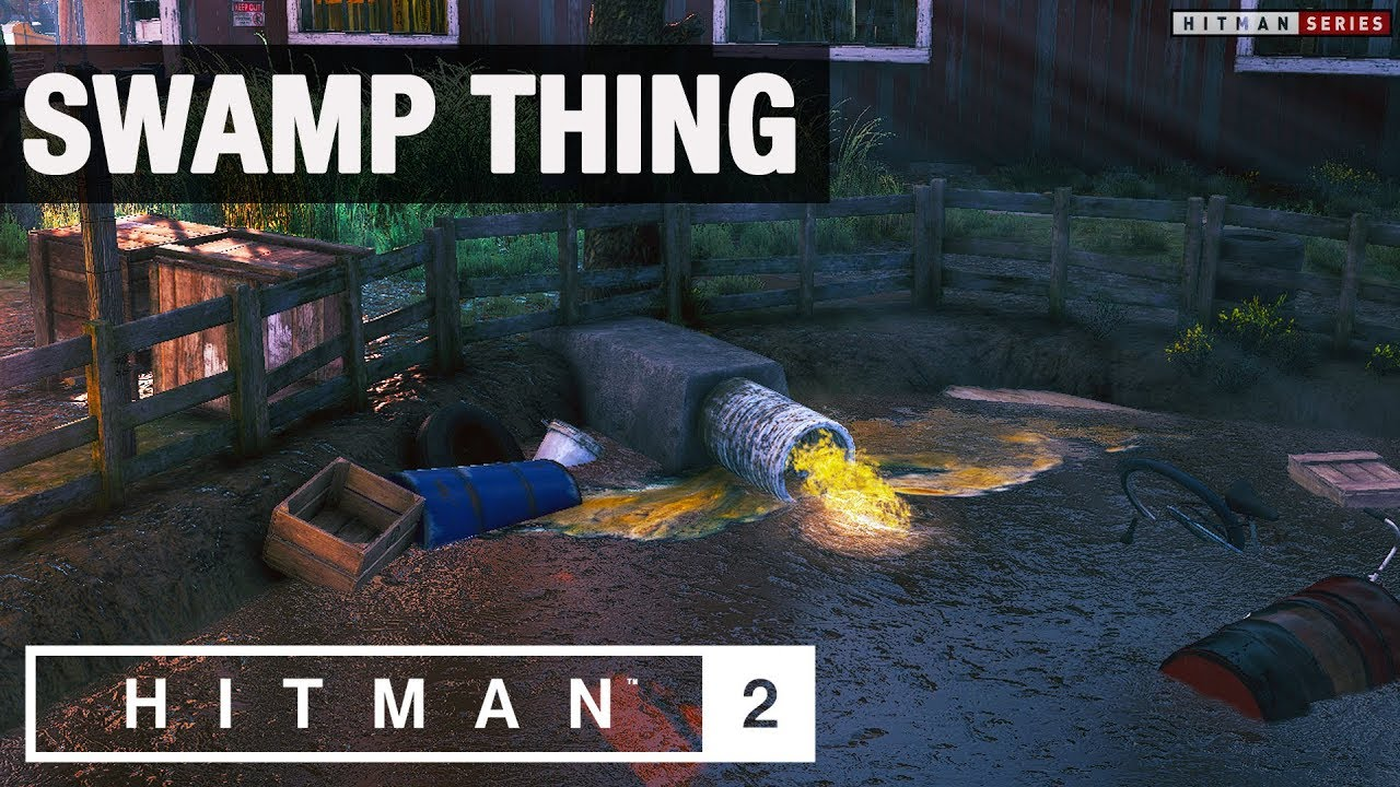 "HITMAN 2 - ""Swamp Thing"" Challenge"
