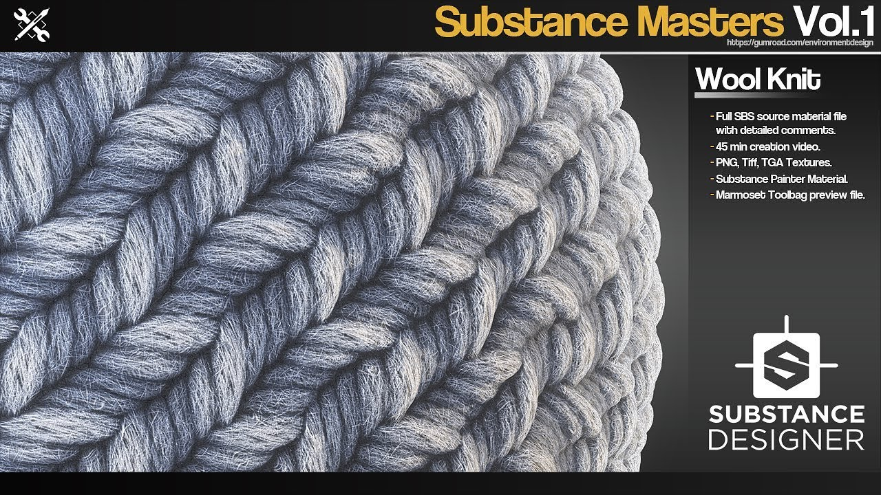 JROTools - Tools for 3D artists - Substance Masters - Vol 1