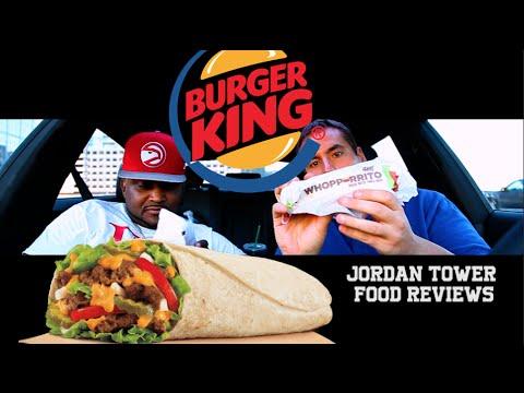 "BURGER KING ® "" WHOPPERRITO ""™ Youtube Food Reviews feat. SHAWTY LO   Jordan Tower Network"