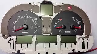 Ciągnik Case MX naprawa licznika - instrument cluster repair - tachoreparatur