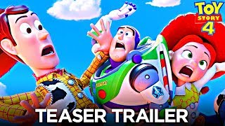 Toy Story 4 | Official Teaser Trailer - REACTION