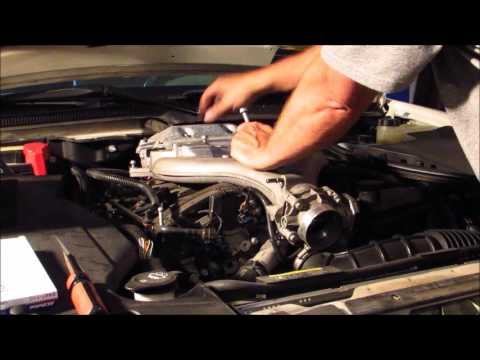 Cadillac Sts Coil And Spark Plug Replacement Youtube