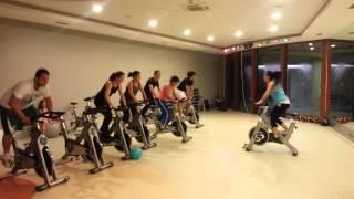 90 dk.fitte spinning çılgınlığı :)))