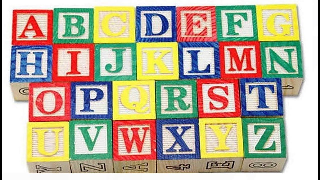 Abc 123 Wooden Blocks Letters Numbers With Box Storage Case Wooden