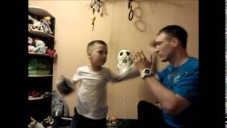 Бокс тренировка для ребенка.Boxing training for child