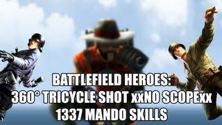 mlg battlefeld heroes 360 tricycle shot xxno scopexx 1337 mando skills 1080p hd