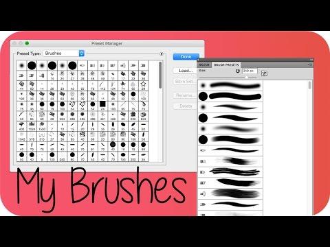 My Brushes | Photoshop Tutorial