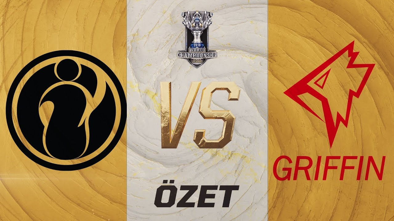 Invictus Gaming ( IG ) vs GRIFFIN ( GRF ) 1. Maç Özeti | Worlds 2019 Çeyrek Final