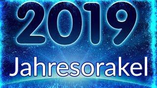 Jahresorakel 2019 Spirituelle Entwicklung  Jahresausblick 2019  Monatsorakel 2019