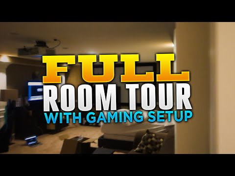 FULL Room Tour with Gaming Setup