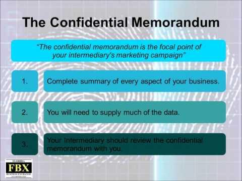The Confidential Memorandum