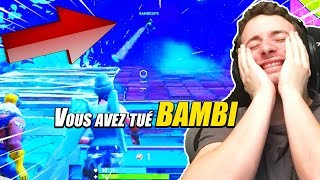 FORTNITE ► PRANK UN BAMBI SUR FORTNITE BATTLE ROYALE !!!