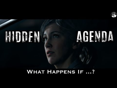 Hidden Agenda 2017 - Act 3 - What Happens if ... Becky takes the Drink