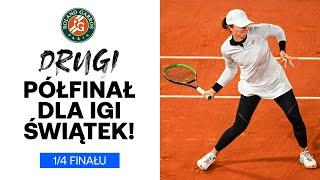 Iga Świątek i Nicole Melichar w PÓŁFINALE DEBLA French Open!
