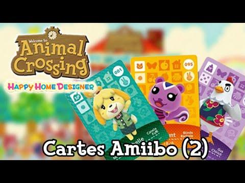 Animal Crossing Happy Home Designer Cartes Amiibo 2 Youtube