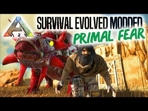 FØRSTE ALPHA TAME! - ARK Survival Evolved Ep 3 (Primal Fear Mod Scorched Earth)