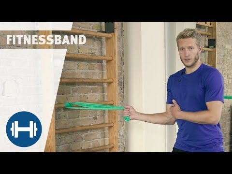 Video: Sport-Thieme® Motståndsband Fitness 150