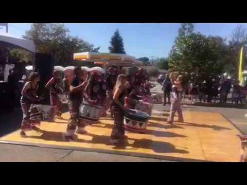 Batala Drum Group At Oaktoberfest
